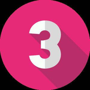 Ícone Número 3
